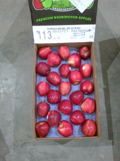 Image of Apple Red Washington US (113pcs)